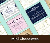 Personalised Confirmation Mini Chocolates