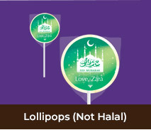 Personalised Lollipops For Eid And Ramadan