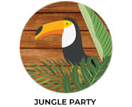 Jungle Theme Birthday Favours