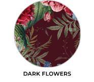 Dark Flowers Theme Wedding Favours