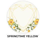 Springtime Yellow Wedding Theme Favours