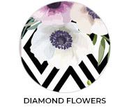Thank You - Diamond Flowers