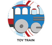 Toy Train Birthday Party Custom Favours