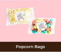 Personalised Popcorn Bags For Gender Reveals