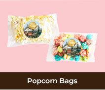 Custom Spring Racing Carnival Popcorn Bags