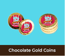 Thank You Gold Chocolate Coins