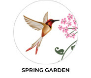 Spring Garden Theme Wedding Favours