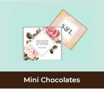 Wedding Mini Chocolates