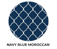Navy Blue Moroccan Wedding Theme Favours