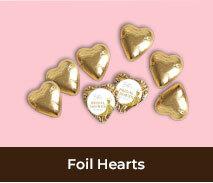 Bridal Shower Chocolate Hearts