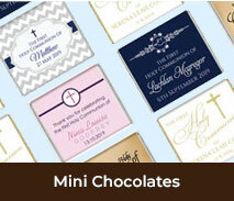 First Holy Communion Custom Mini Chocolates