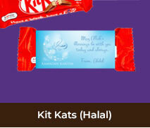 Ramadan & Eid Custom Kit Kats (Halal)