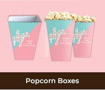 Custom Spring Racing Carnival Popcorn Boxes