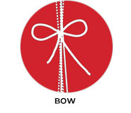 Bow On Red Wedding Theme Favours