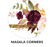 Masala Corners Theme Wedding Favours