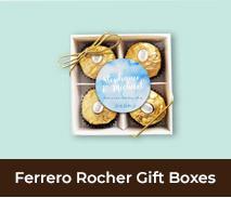 Ferrero Rocher Gift Box Wedding Favour