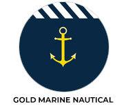 Gold Marine Nautical Wedding Theme Favours
