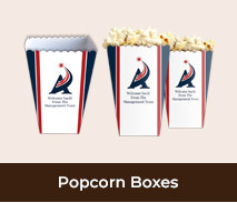 Personalised Welcome Back Popcorn Boxes