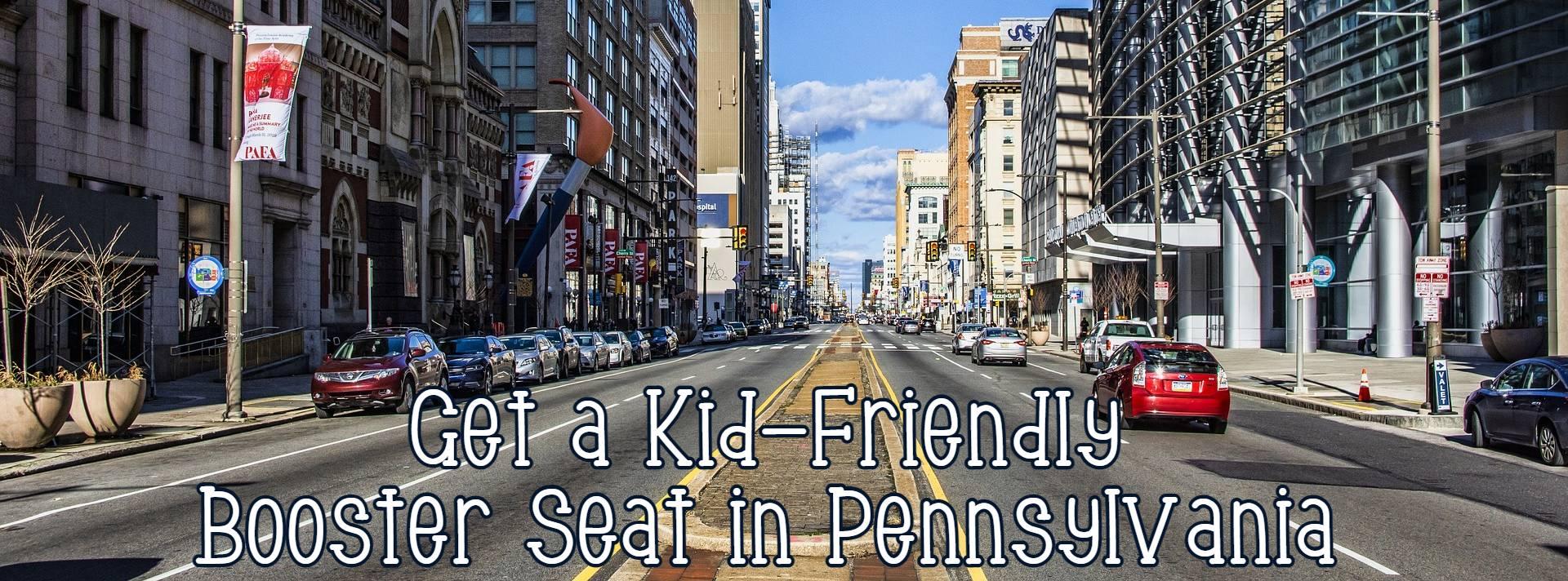 Pennsylvania car booster seat