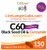 C60Complete™ Gelcaps are 99.99% pure Carbon 60 bonded to Certified Organic Black Seed Oil with organic Curcumin.