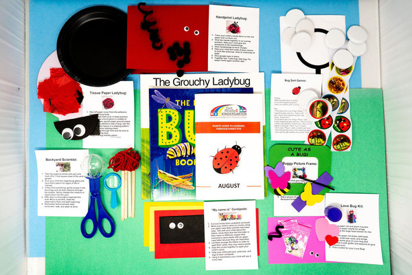 August Kindercarton is all about BUGS and BEETLES!