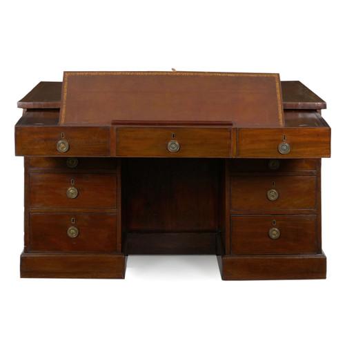 A Rare George III Pedestal Writing Desk | England, circa 1800