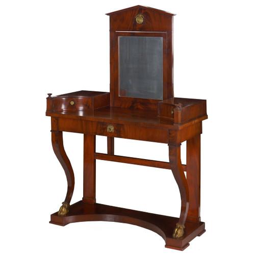 Empire Mahogany Dressing Table | Baltic States, circa 1840