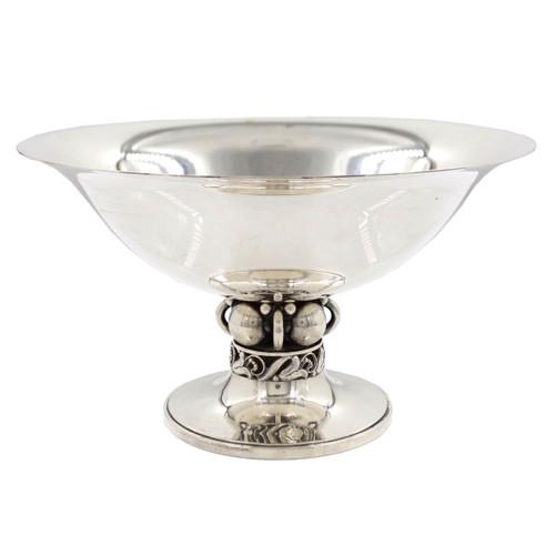 Georg Jensen Sterling Silver Centerpiece # 118 designed by Alphonse La Paglia