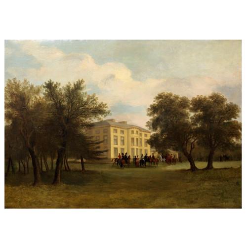 """Before the Hunt"" | John Syer, Jr. (British, 1846-1913)"