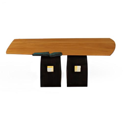 Contemporary Artisan Made Coffee Table circa 1997