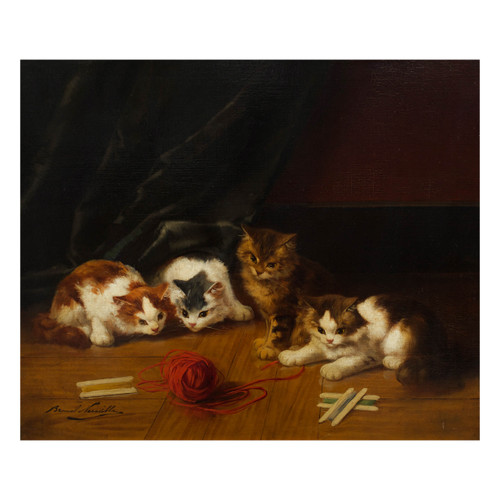 """""""Kittens at Play"""" 