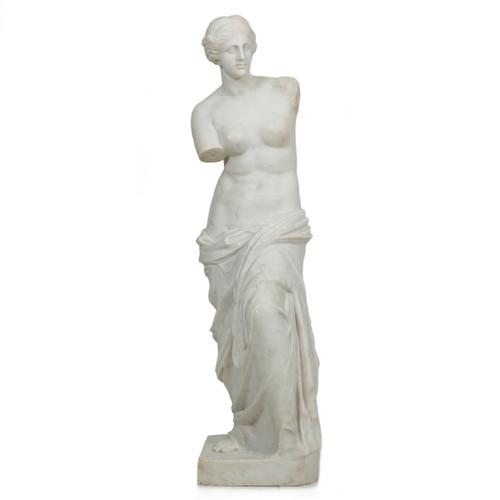 """Classical Marble Sculpture """"Venus de Milo"""" after the Antique"""