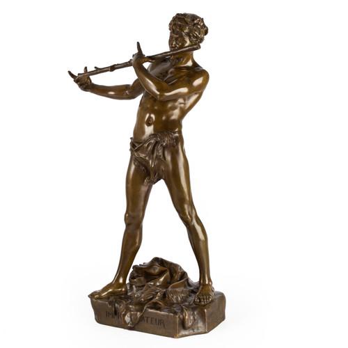 "Bronze Sculpture ""L'Improvisateur"" | Felix Maurice Charpentier"