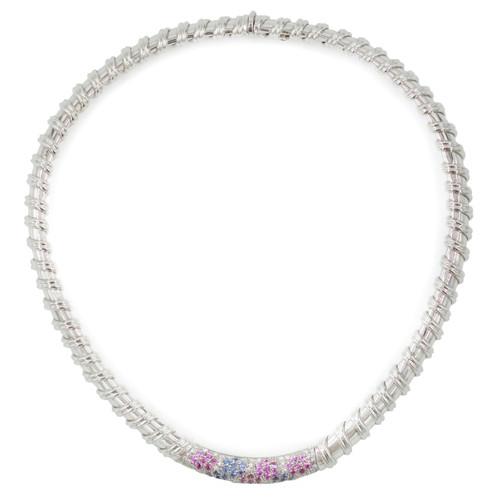 """Nabucco"" 18K White Gold Necklace | Roberto Coin"