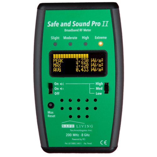 Safe and Sound Pro II RF Meter