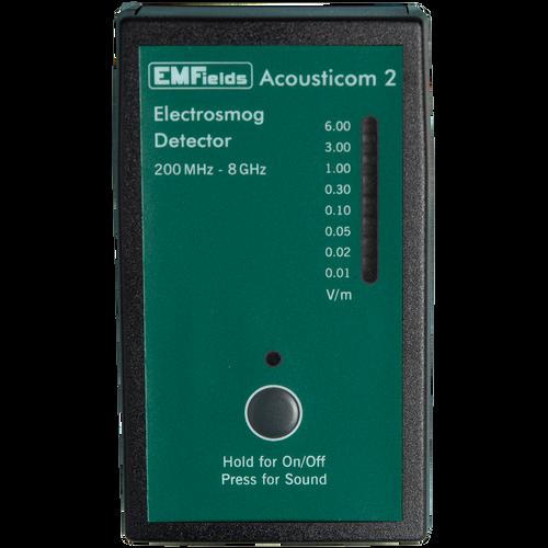 EMFields Solutions Acousticom 2 RF Detector, RF Meter, RF Detector