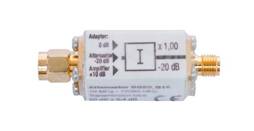 Gigahertz Solutions DG20_G10 Attenuator - For HFW35C, HFE35C, HFW59D and HF59B