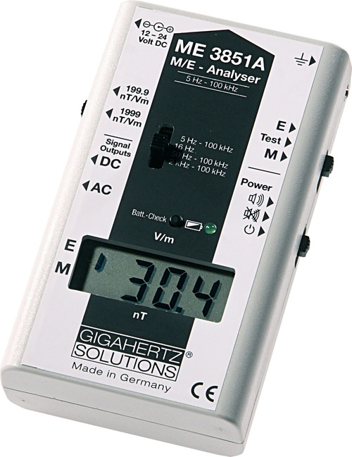 Gigahertz Solutions EMF Meter ME3851A
