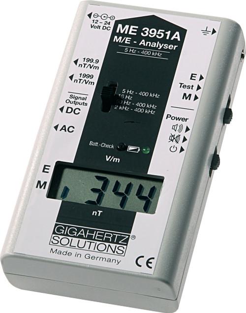 Gigahertz Solutions EMF Meter ME3951A, Gigahertz Solutions - ME3951A EMF Meter / GaussMeter