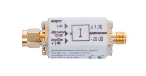 Gigahertz Solutions DG20_G10 Attenuator - For HFW35C, HFE35C, HFW59D and HF59B