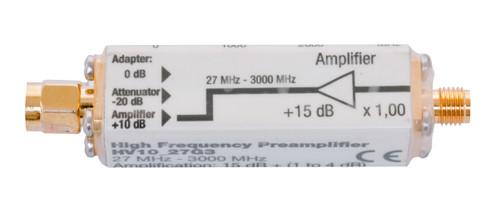 Gigahertz Solutions HV10_27G3 Pre-Amplifier - For HFE35C, HF59B