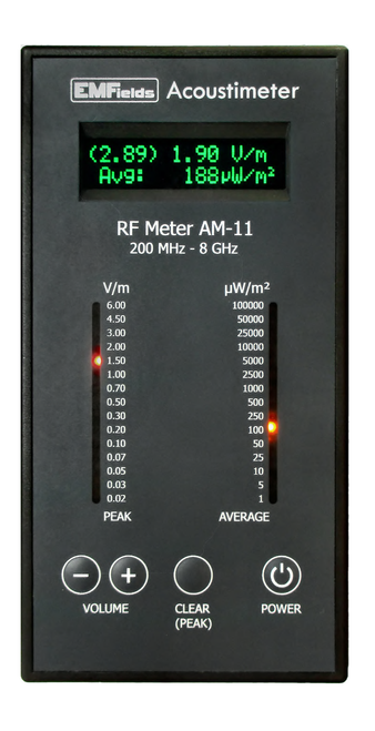 EMFields Solutions Acoustimeter AM-11, RF Meter