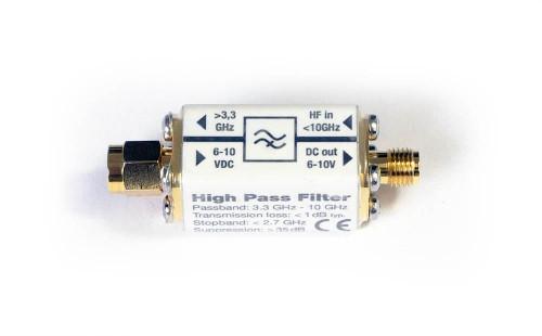 High Pass Filter With DC PASS HP33_G10