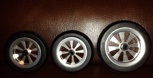 "**New""** Flywheelz 8 spoke Aluminum Wheels"