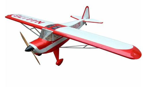 "88"" Flight Model Taylorcraft-90 (Red/White)"