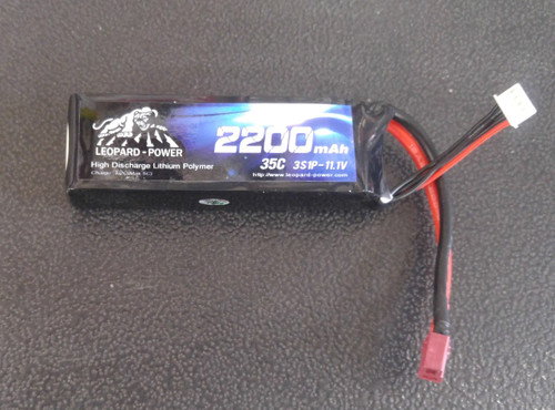 Leopard Power 2200 mAh 35C 3S 11.1v Lipo Battery