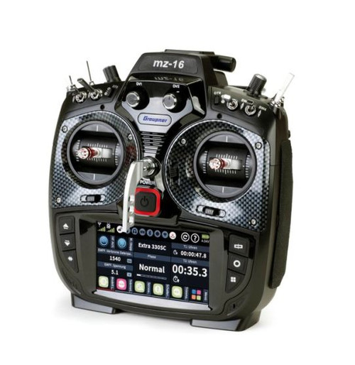 MZ-16 - 16 Channel 2.4 GHz HoTT Color TFT Radio System