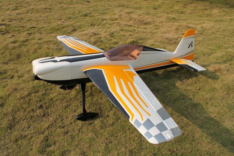 "Aeroplus 108"" CORVUS RACER 540 100CC- White Cowl Scheme SOLD WITH EME 120 Engine"