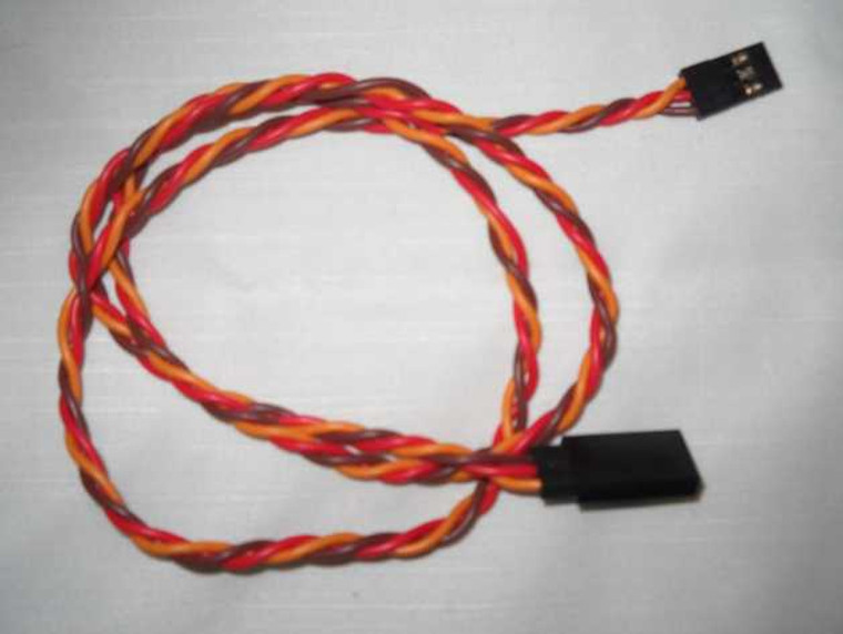 TDRC 22 AWG 100 strand Servo Extensions