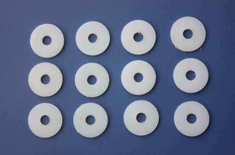 4mm PTFE WASHERS (for Canopy screws)